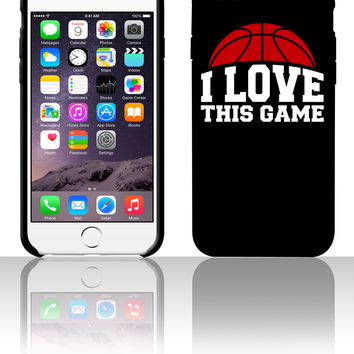 I LOVE THIS GAME 5 5s 6 6plus phone cases