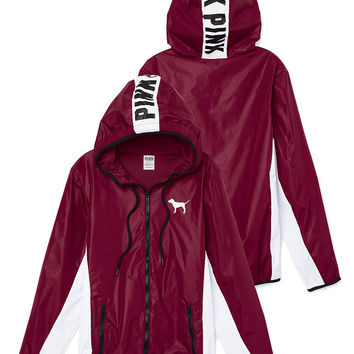 Anorak Full-Zip Hoodie - PINK - from Victoria's Secret