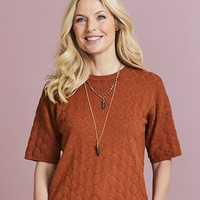 Textured Jumper | SimplyBe US Site