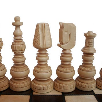 Best Wooden Chess Set Products On Wanelo