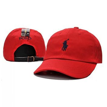 Polo Ralph Lauren Women Men Embroidery Solid Color Baseball Cap Hat-3