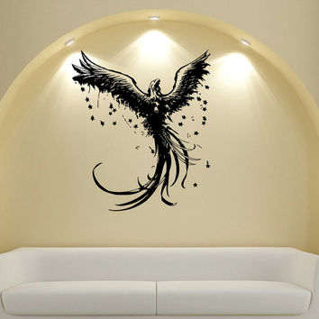 Wall Decals Vinyl Decal Sticker Wall Murals Wall Decor Animal Eagle Space (OS205)