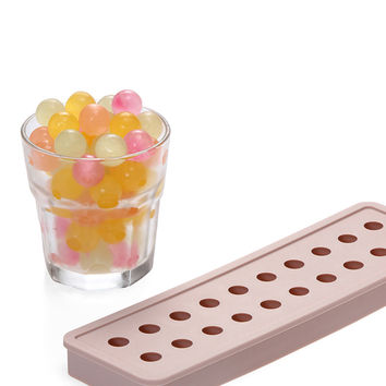 Small Round And Rectangle Ball Ice Brick Cube Maker Tray Mould