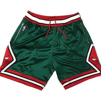 Mitchell & Ness 2008-09 Authentic Chicago Bulls Shorts Customized w/ Pockets