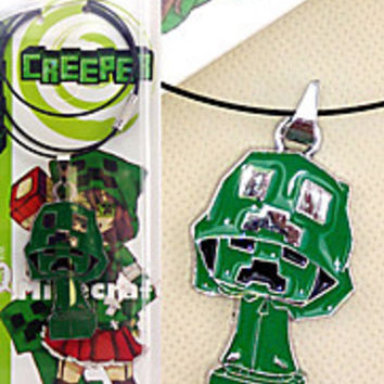 Creeper My World JJ Blame Animal Alloy Necklace Minecraft MOD More Accessories