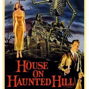 House On Haunted Hill 27x40 Movie Poster (1958)