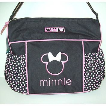 Disney Minnie or Mickey Mouse Oversized Diaper Bag Tote