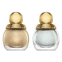 Dior 'Diorific - Golden Winter Holiday Look' 3D Jewel Manicure Duo (Limited Edition) | Nordstrom