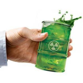 Polluted Toxic Waste Glasses