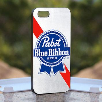 Blue Ribbon Beer - Design available for iPhone 4 / 4S and iPhone 5 Case - black, white and clear cases