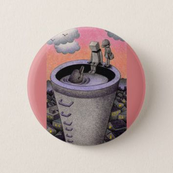 Chimney Pinback Button