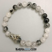CHALLENGES: Tourmaline Quartz | Dragon Head | Yoga Chakra Bracelet