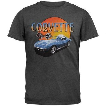 Corvette Sunset Soft T Shirt