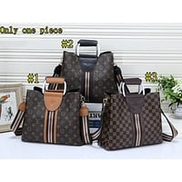 LV Fashion Hot Selling Lady's Printed and Coloured Single Shoulder Bag