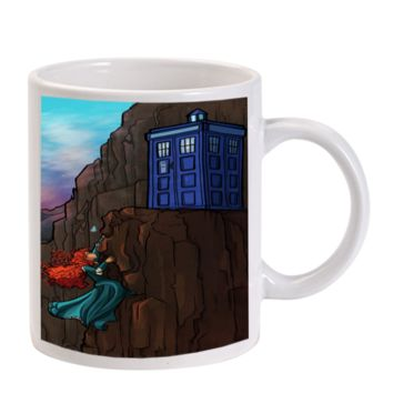 Gift Mugs | Disney Tardis Brave Princess Pixar Ceramic Coffee Mugs