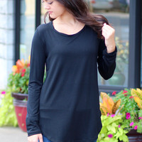 Emma's Basic Long Sleeve {Black}