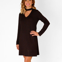 Romantic Night Out Dress - Black