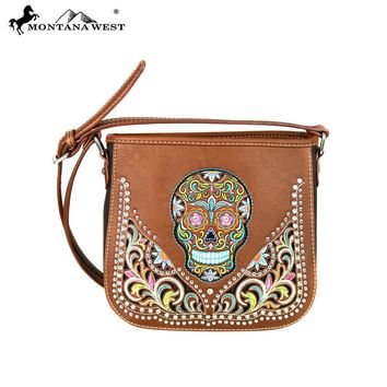 Sugar Skull Collection Crossbody Bag
