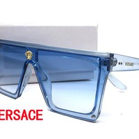 Versace Cat Eye Sunglasses Women Brand Designer Luxury Crystal Sexy Sun Glasses For Ladies sunglasses for women