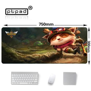 Speed Version Large Gaming Mouse Pad Gamer Locking Edge Mouse Keyboards mats Timo pattern mouse pad mat for league of legends