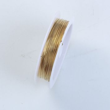 WG-101-24G Gold Color Wire 24 Gauge