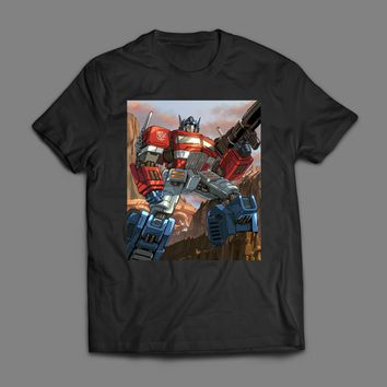 TRANSFORMER OPTIMUS PRIME T-SHIRT