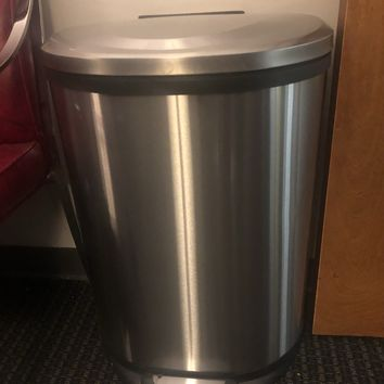Stainless Steel Commercial Step Trash Can