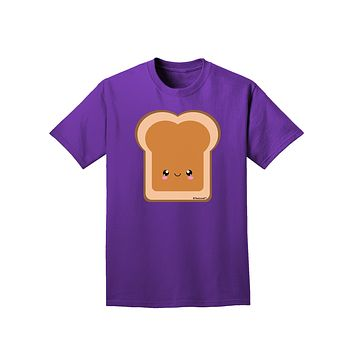 Cute Matching Design - PB and J - Peanut Butter Adult Dark T-Shirt by TooLoud