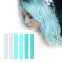 ICE Minty Turquoise hair chalk set of 6 | HairChalk