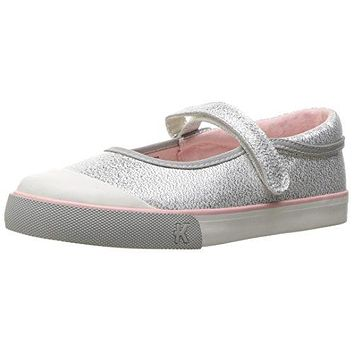 See Kai Run Marie Silver Glitter Mary Jane Toddler Shoes