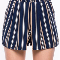 Striped Origami Short