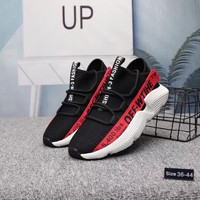 """OFF-WTIHE"" Unisex Casual Fashion Letter Webbing Fly Line Sneakers Couple Running Shoes"