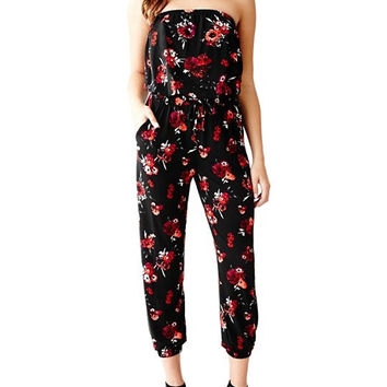 Guess Strapless Jumpsuit / woman's designer clothing