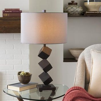 Erie Modern Stacked Table Lamp