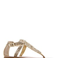 MANGO - SHOES - Ballerinas, Flats - Shiny strap sandals