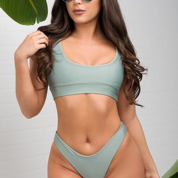 Playa Paraiso Two Piece Swimsuit - Green