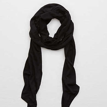 Aerie Teeny Scarf, True Black