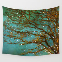 Magical Wall Tapestry by The Last Sparrow