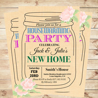 Housewarming party invitation template, Printable housewarming party invitations, Housewarming invitation printable | Art Party Invitation
