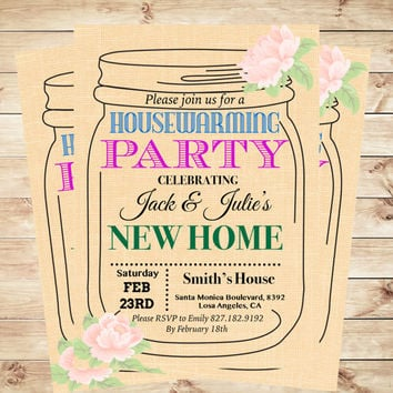 Housewarming Party Invitation Template Printable P