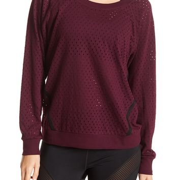Z By Zella | Slow Flow Stripe Pullover | Nordstrom Rack