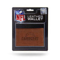San Diego Chargers Leather Embossed Trifold Wallet