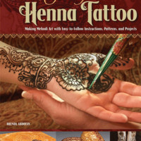 Teach Yourself Henna Tattoo Book | Rex Art Supplies