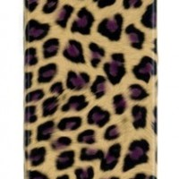 Leopard Print Case - Compatible With Apple iPhone 4, 4S (AT&T, Verizon, Sprint)