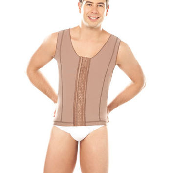 Men Vest Girdle with Hooks