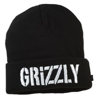 Grizzly Puffy Embroidery Beanie - Men's at CCS