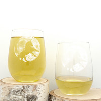 Moon & Unicorn Wine Glasses