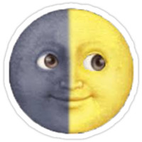 Sun And Moon Emoji