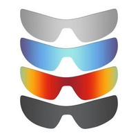 4 Pieces Mryok POLARIZED Replacement Lenses for Oakley Offshoot Sunglasses Stealth Bla