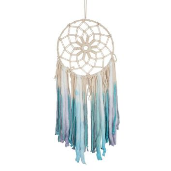 Newest Dream Catcher Handmade Macrame Dyed Bohemia Handcraft Tassel Tapestry Fashion Unique Gifts Home Craft Decorations